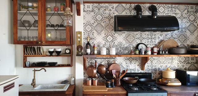 メディキューブ内のキッチン