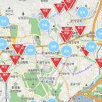 「コロナマップ」「コロナアラート」「移動経路案内地図」「コロナある」感染者がひと目で分かる地図サイト4つ!【在韓、訪韓者は必見】