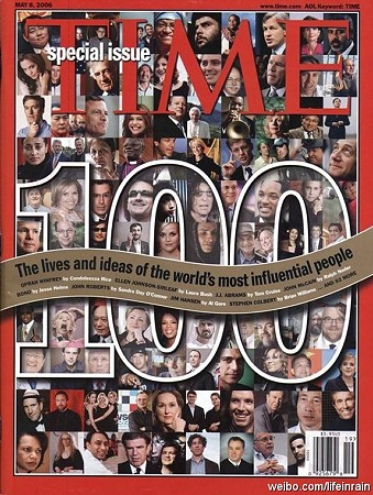 タイム誌「世界で最も影響力のある100人」