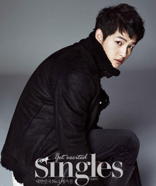 ソン・ジュンギ韓国雑誌「Singles」12月号グラビア写真2