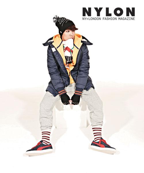 MBLAQイジュン、韓国雑誌「NYLON」12月号のグラビアを飾る1