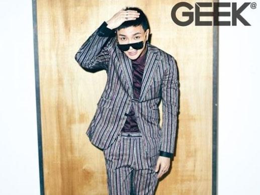 SUPER-JUNIORイトゥク、韓国雑誌「GEEK」入隊直前グラビア3