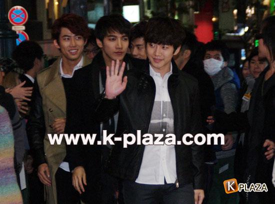 2PM来日写真1