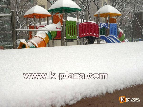 雪のソウルの写真6