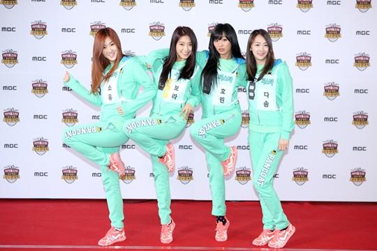 MBC「アイドル陸上選手権大会」SISTARの写真