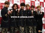 ZERO、U-KISS、SHU-I、『韓ラブ歌謡祭』番組収録 記者会見レポート