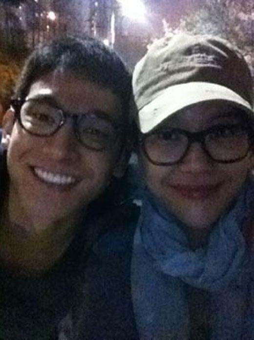 チョン・ソクウォンとペク・ジヨンの写真