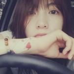 KARA(カラ)ジヨン、手首のタトゥーを公開