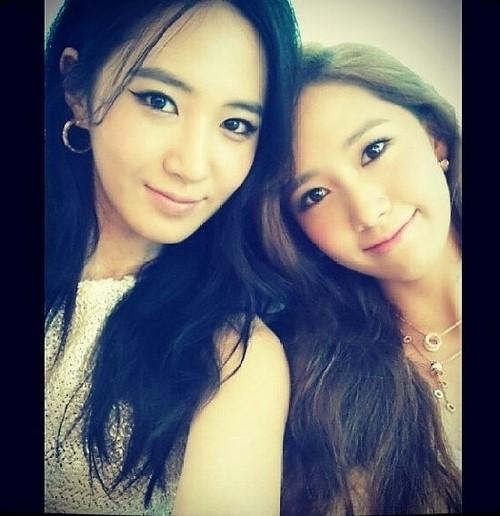 ユリとユナの写真