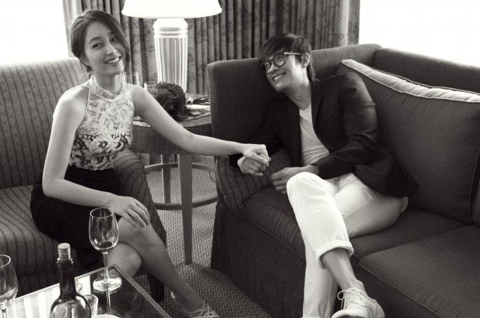 イビョンホンとイミンジョンの結婚写真2