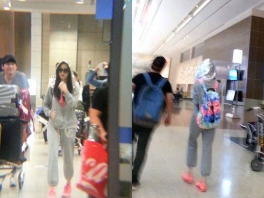 少女時代ソヒョンの空港ファッション