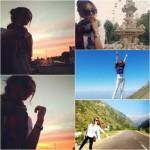 G.NA(ジナ)、旅行スナップショットは、まるで1枚1枚が芸術的な写真集みたい?!