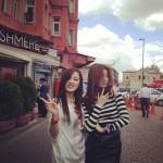 MissAスジ&ジア、トルコで仲良くツーショット写真公開!