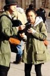 ムン・グニョン&キム・ボム、交際1ヶ月のヨーロッパ旅行中の姿がキャッチされる!