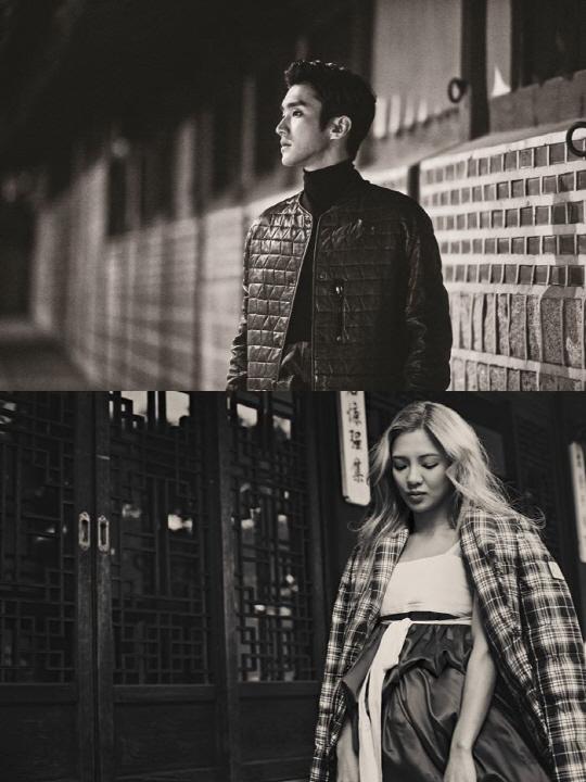 少女時代ヒョヨン&SUPER JUNIORシウォンの写真