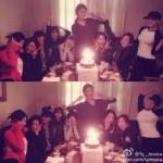 少女時代、全員集合でスヨンの誕生日パーティー!幸せな25歳の誕生日に