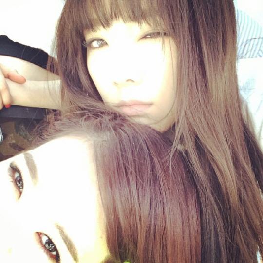 少女時代テヨン&サニーの写真