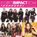 CLUB系K-popガールズグループ「2EYES」出演決定!!『K-GIRL'S IMPACT 2014 in Studio Coast』