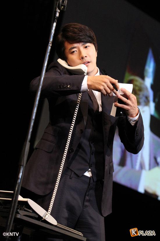クォン・サンウ電話