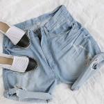 韓国ファッション夏アイテム|バックリボンが可愛い♡ラブリースタイル!大人っぽく美脚を強調♪花柄レギンスは履き心地◎