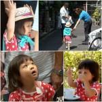 秋山成勲の愛娘サランちゃん、おじいちゃんと大阪デートを大満喫!
