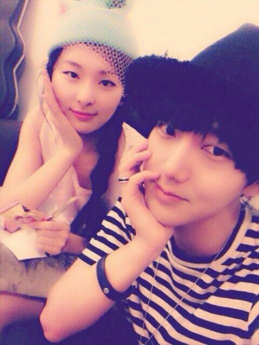 SUPER JUNIORイェソン&Red Velvetスルギの写真