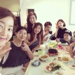 女優ハン・ジヘ、美女グループ「ハミモ」でのランチ!「美しい人たち・・・」