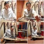 「人間文化財伝授者」女優イ・ハニ、韓国伝統楽器、伽耶琴(カヤグム)の練習風景公開!