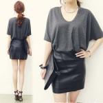 大人センスなレザースカート♪人気色の組み合わせが可愛い!ガーリーなチェック柄ワンピース