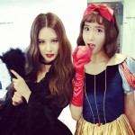 少女時代ソヒョン&ユナ、ハローウィンのコスプレでキュートな吸血鬼&白雪姫に!!