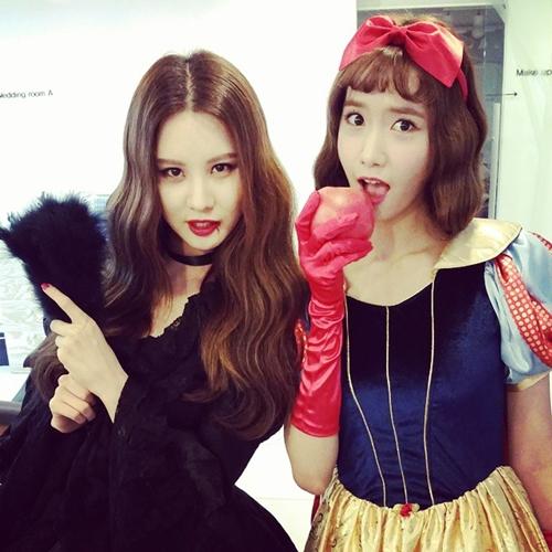 少女時代ソヒョン&ユナの写真