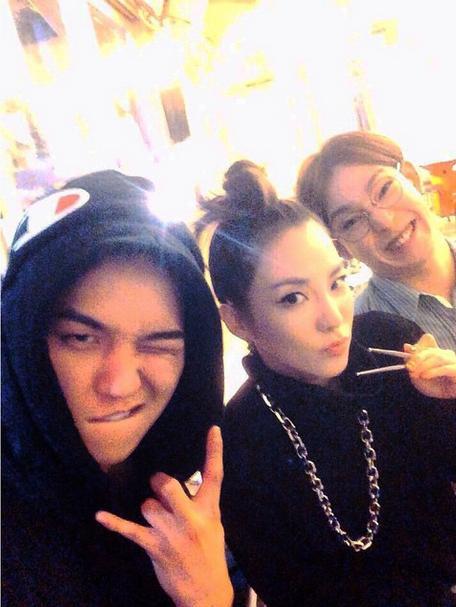 2NE1DARA&WINNERソン・ミンホ&ナム・テヒョンの写真