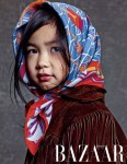 TABLO(タブロ)の娘ハルちゃん、雑誌「Harper's BAZAAR」で初の単独モデルデビュー!