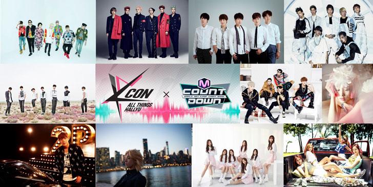 KCON-2015-Japan×M-COUNTDOWN-出演者