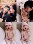 俳優クォン・サンウ、可愛すぎる1月に産まれた愛娘リホちゃんを初公開!