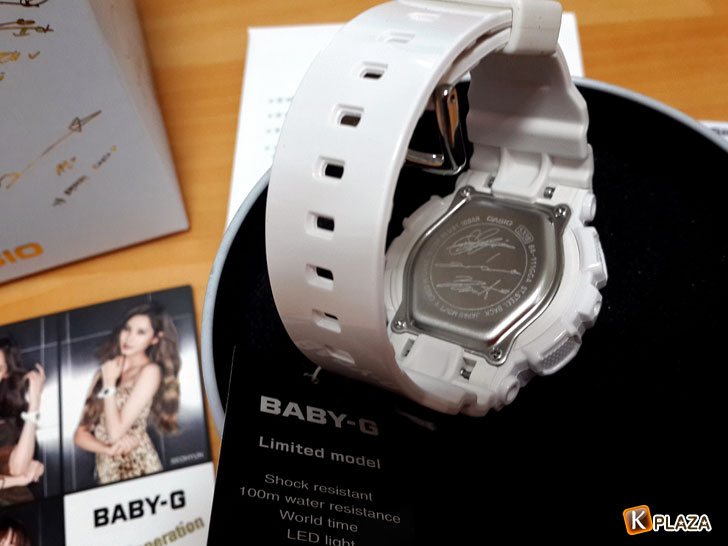 少女時代BABY-G限定版4