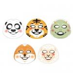 韓国土産にピッタリ♪今韓国で大人気の可愛すぎるTHE FACE SHOP(フェイスショップ) キャラクターマスク