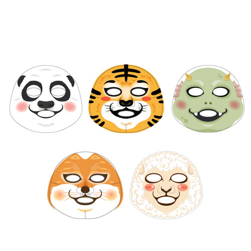 THE FACE SHOP(フェイスショップ)キャラクターマスクシート