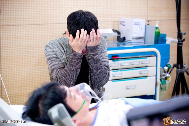 「トライアングル」泣き演技②