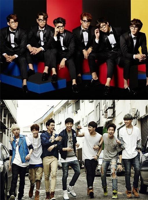 2PM&GOT7の写真
