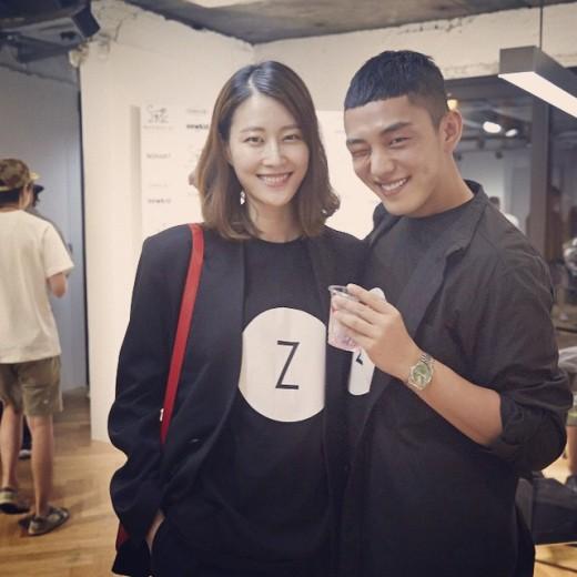 イ・ヒョニ&ユ・アインの写真