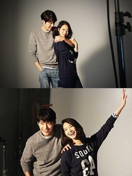シン・ミナ&キム・ウビンの写真