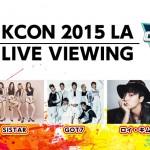 SUPER JUNIOR、 SISTAR、 GOT7、 ロイ・キム、 MONSTA Xほか、KCON 2015 LA × M COUNTDOWN 日本ライブ・ビューイング実施!