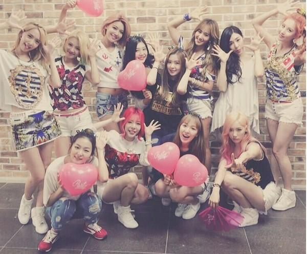 少女時代&Red Velvetの写真