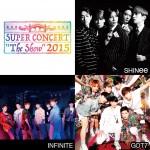 "SHINee、INFINITE、GOT7出演! 「SUPER CONCERT""The Show""2015」開催決定!"