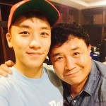 BIGBANGのV.I(スンリ)はお父さん似?!そっくりなお父さんとのツーショット写真!