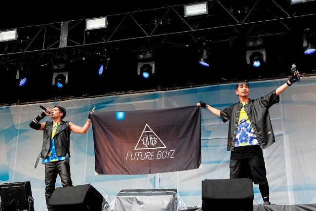 3_FUTURE BOYS_オープニングアクト