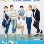 韓国の5人組実力派男性アイドルNOM、単独コンサート開催決定!