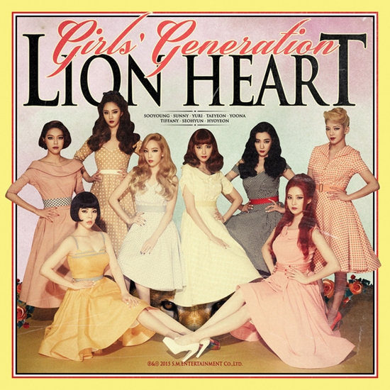 少女時代 LION HEART