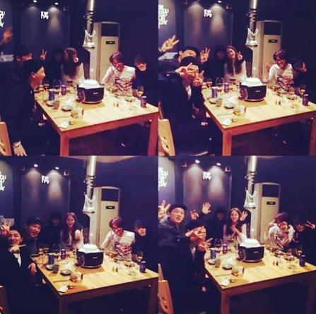 ハン・イェスル&TEDDYの写真